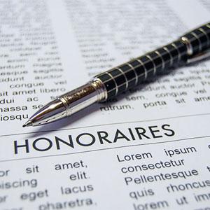 Honoraires avocats